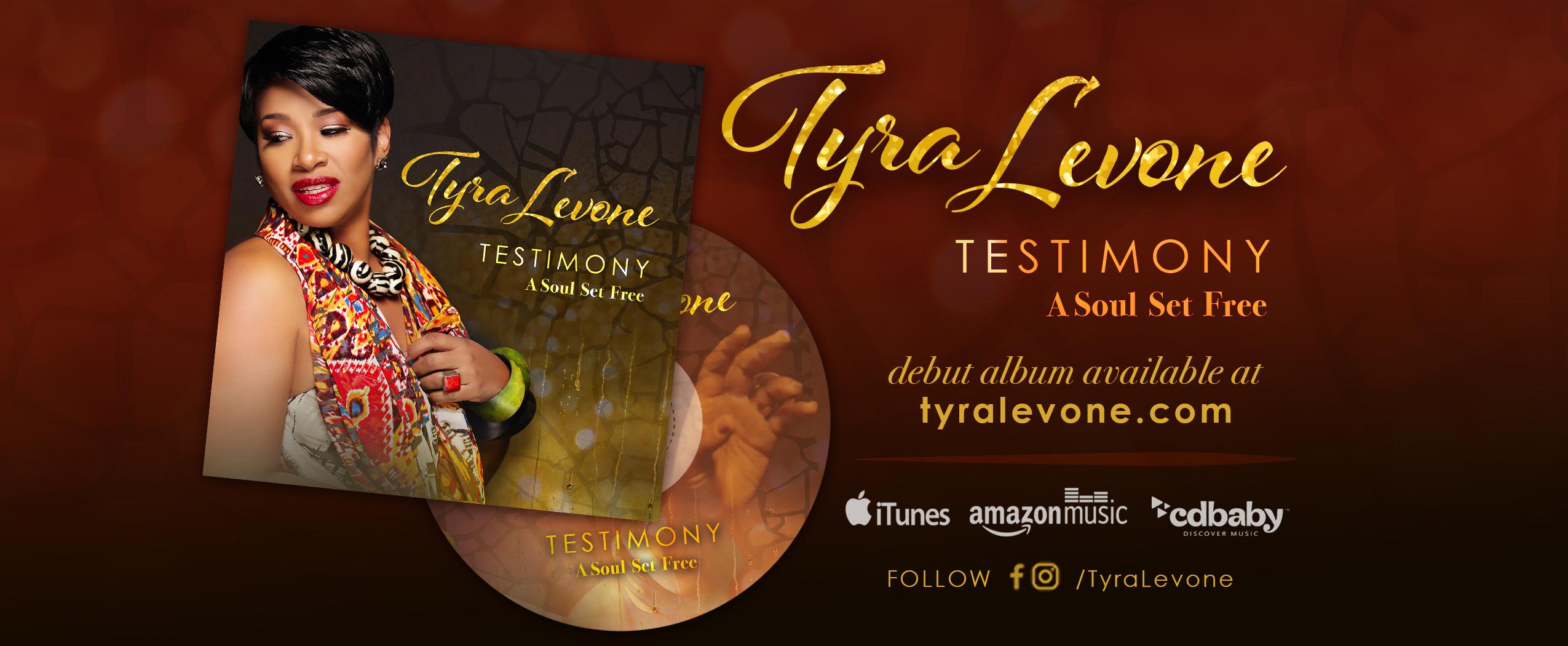 Tyra Levone Testimony Album Horizontal WEB